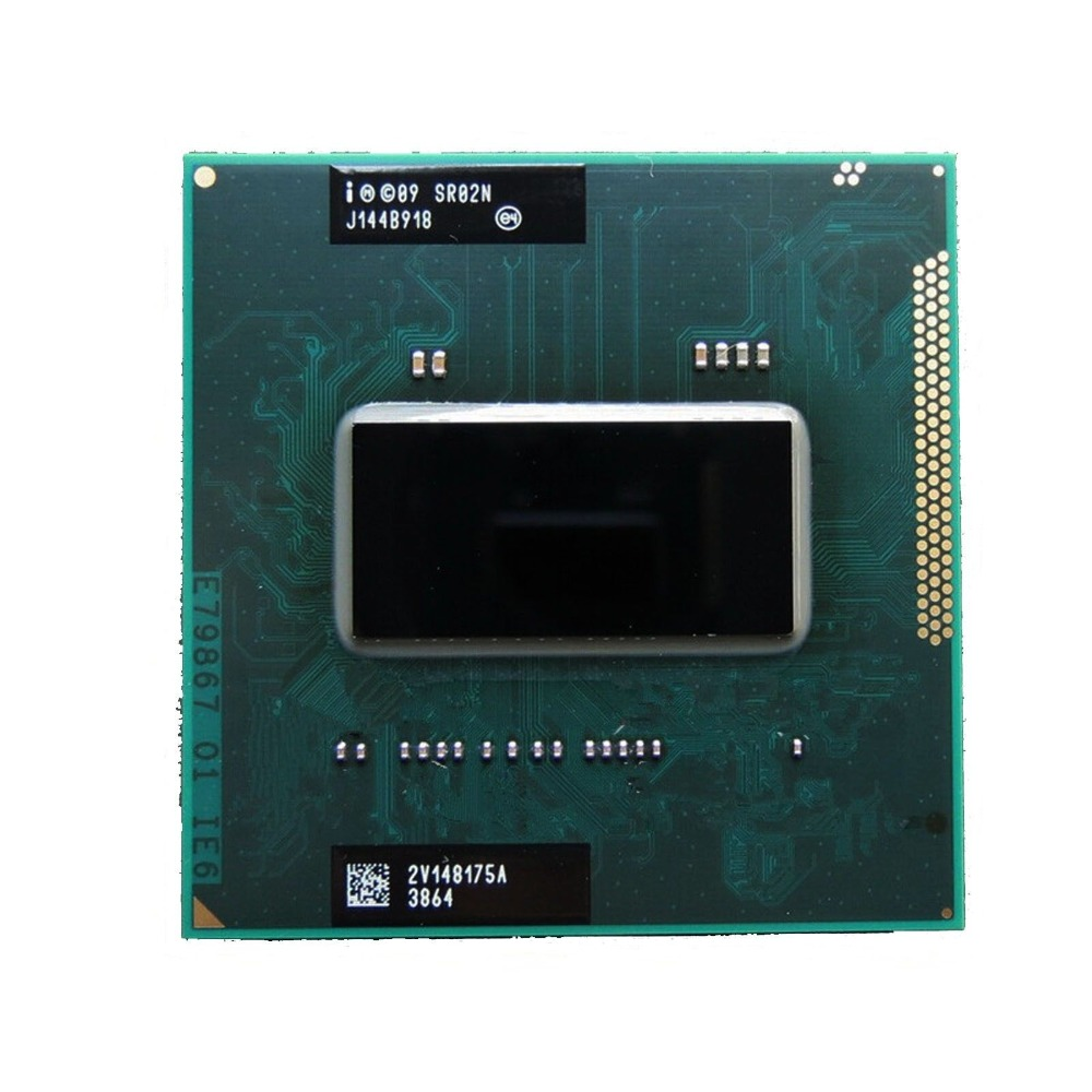 Intel Core i7 2670QM 2.2GHz 6MB Socket G2 Mobile CPU Processor i7 2670QM SR02N-in CPUs from Computer & Office    1