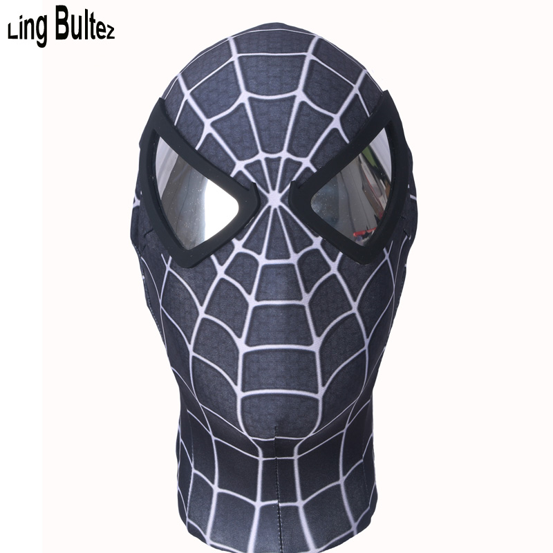 black spiderman mask - photo #2