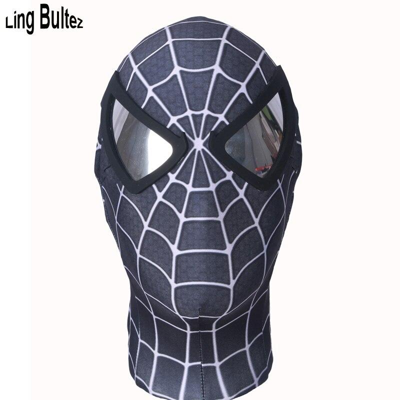 spiderman black mask - 800×800