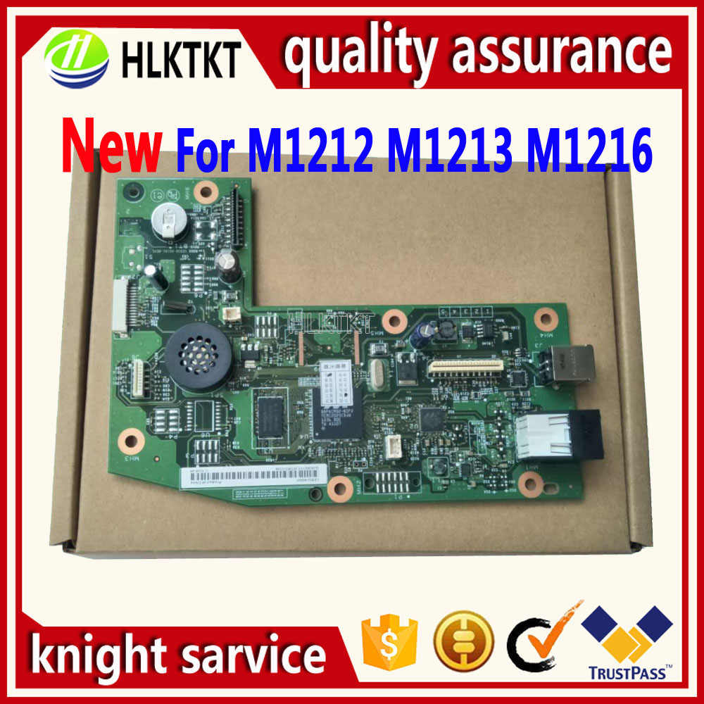 new CB409-60001 CE832-60001 Formatter Board for HP M1212NF M1213NF M1216NF 1213NF 1216NF MFP 1212 M1212 1212NF 1018 1020 new original laser printer logic board for hp m1216 m1212 m1213nf m1212nf ce832 60001 1213 1216nf 1212 formatter board mainboard