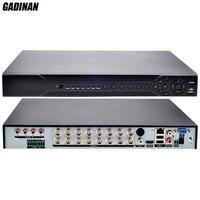 GADINAN Home DVR Recorder AHD 1080P 16CH AHDH DVR 16 Channel 2 SATA HDD Port AHD