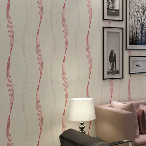 ФОТО Modern Art Striped Wallpaper Roll for Living Room papel de parede 3D vision DZK118 Background Sofa