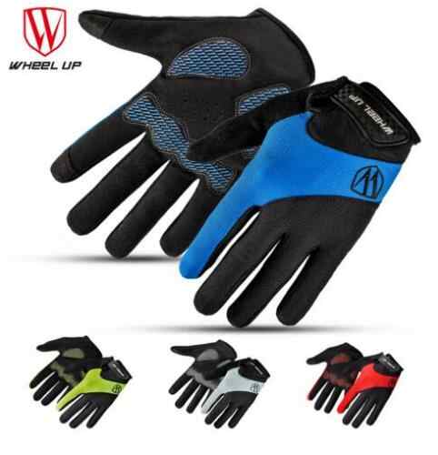 Full Finger Touch Screen Cycling Gloves Road MTB Mountain Bike Gloves Bicycle Outdoor Sport Gloves Breathable Equipment