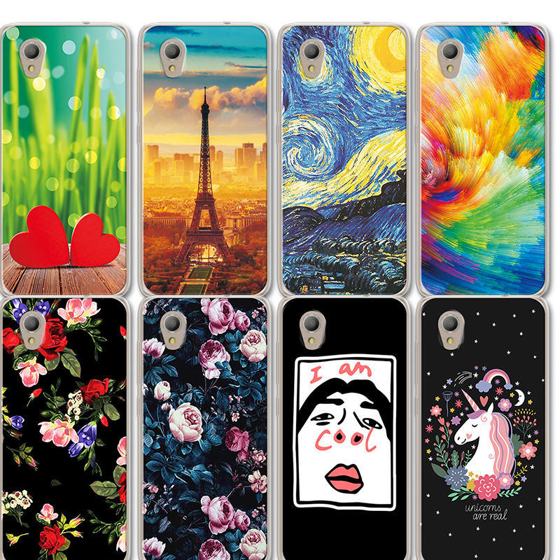 new styles 94101 246ff US $1.18 20% OFF The Avengers Silicone Phone Case For Alcatel 1 5033D 5033A  5033Y 5033X Novelty Flowers Art Painted Cover For Alcatel 1 5033D 5