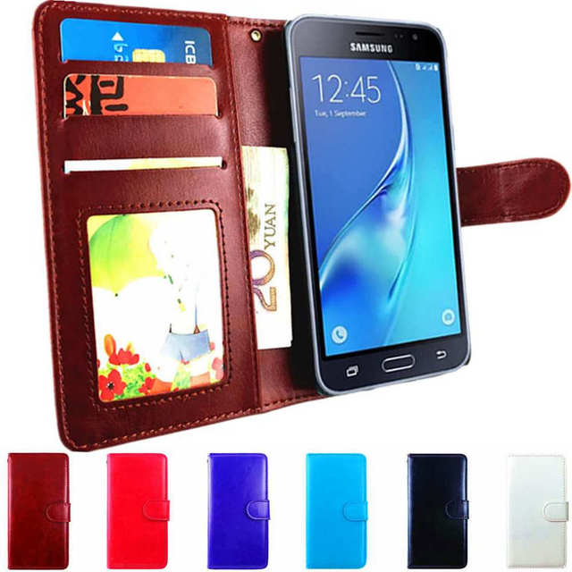 new product 0cb71 2c5e7 US $4.98  For Samsung Galaxy J7 2017 Case Flip Cover Leather Wallet Case  For Samsung J7 2017 J730F SM J730 SM J730F Phone Cover Luxury-in Fitted  Cases ...