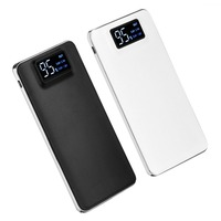 Portable Ultra Thin Power Bank 20000mAh External Phone Battery Charger Powerbank 20000 Mah With Digital LCD