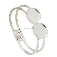 Bracelets 20mm bricolage Blanc