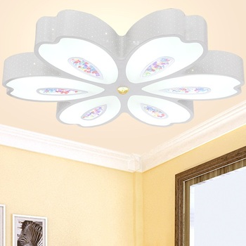 Led ceiling lamps iron creative lighting modern minimalist living room bedroom lamp Restaurant Ceiling lights