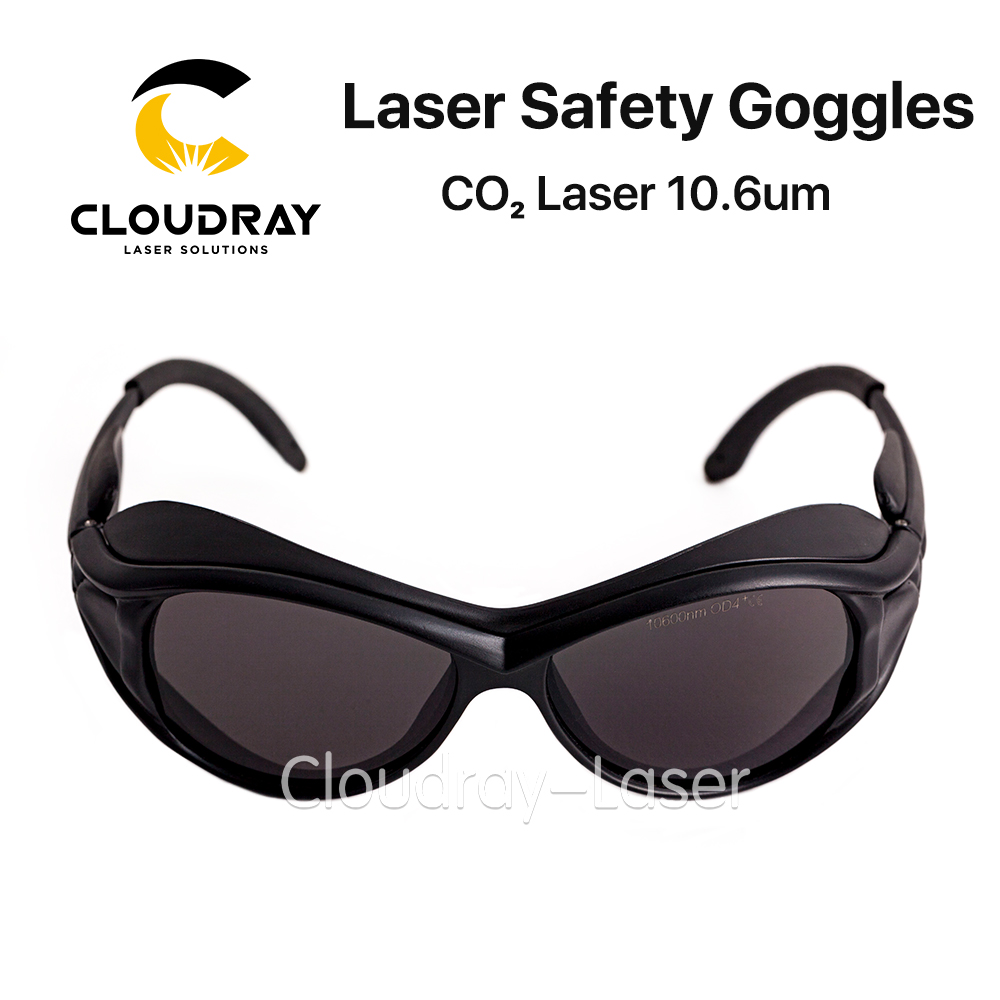 Cloudray 10600nm Laser Safety Goggles OD4+ CE Style A Protective Goggles For CO2 Laser Free Shipping