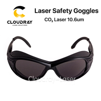 Cloudray 10600nm Laser Safety Goggles OD4 CE Style A Protective Goggles For CO2 Laser Free Shipping