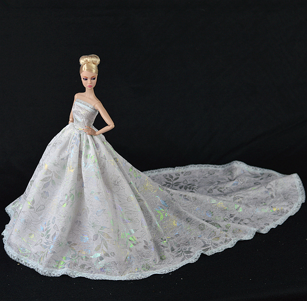 Long barbie dress