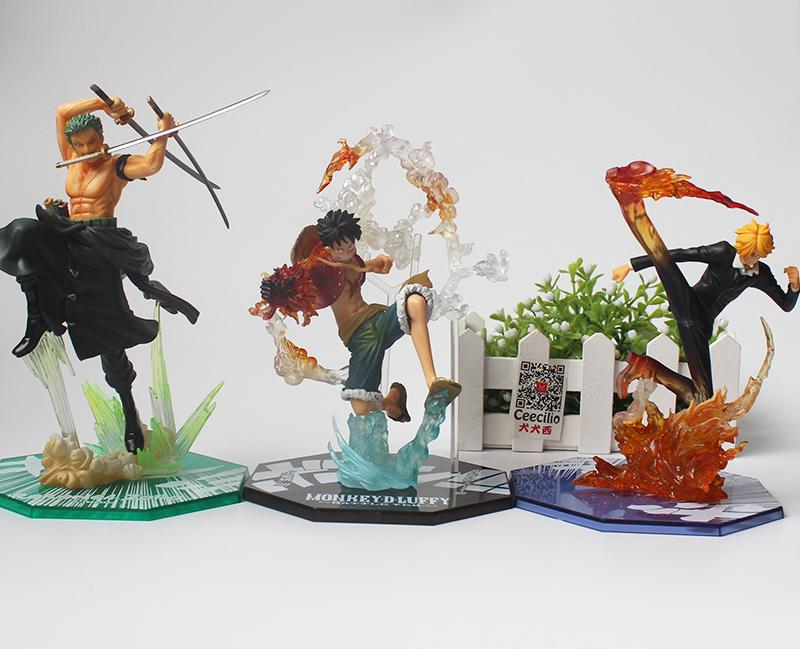 One Piece Figures Pop Three