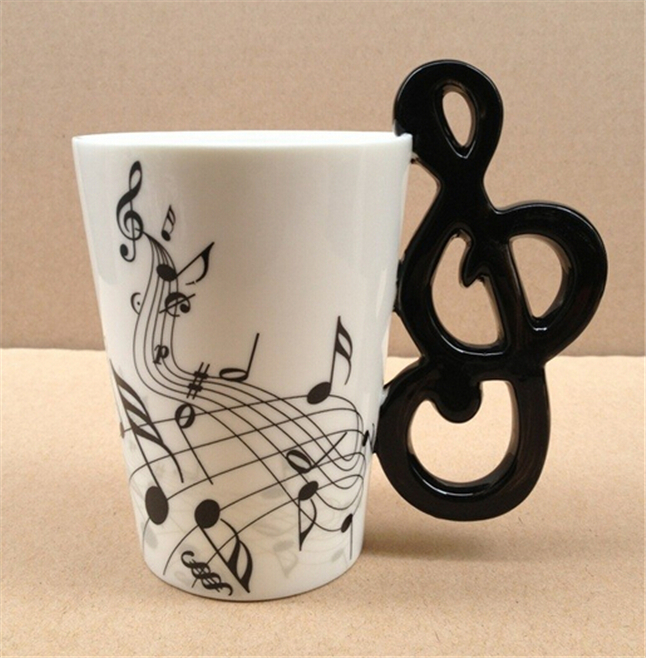 Black And White Music Note 1