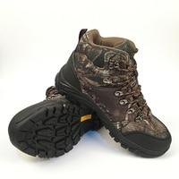 Camo Caccia Boot Realtree AP Camouflage Stivali Da Neve Impermeabile, Esterno Tattico Camo Boot Caccia Pesca Numero di scarpe 39-45