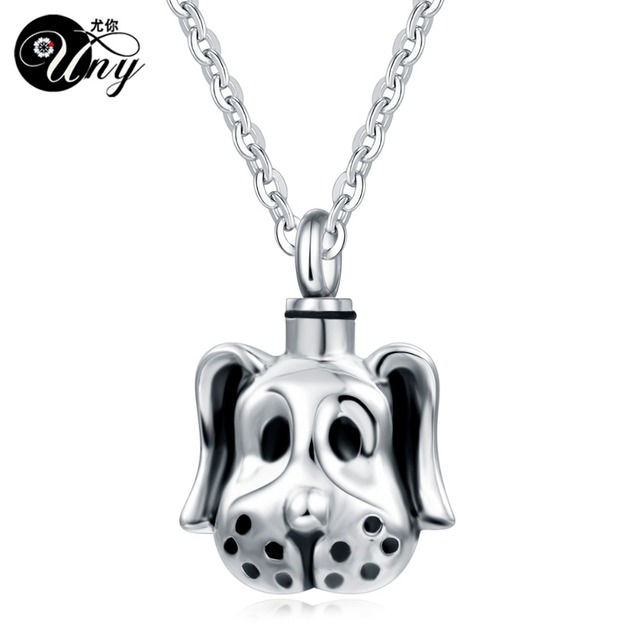 Uny trendy stainless steel dog pet urn ashes pendant perfume bottle uny trendy stainless steel dog pet urn ashes pendant perfume bottle memorial ash keepsake cremation jewelry mozeypictures Choice Image