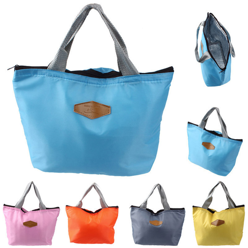 New Qualified  Waterproof Portable Picnic Insulated Food Storage Box Tote Lunch Bag hot sale on
