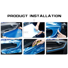 Highlight Carbon Fiber Wrap Sticker, Car Motorcycle Sticker Sheet
