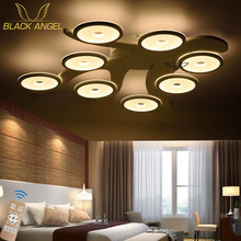 2016 modern led ceiling light living room lights acrylic decorative lampshade ceiling lamp lamparas de techo moderne lamps