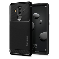 100 Original SPIGEN Huawei Mate 10 Pro Case Rugged Armor Black L19CS22665