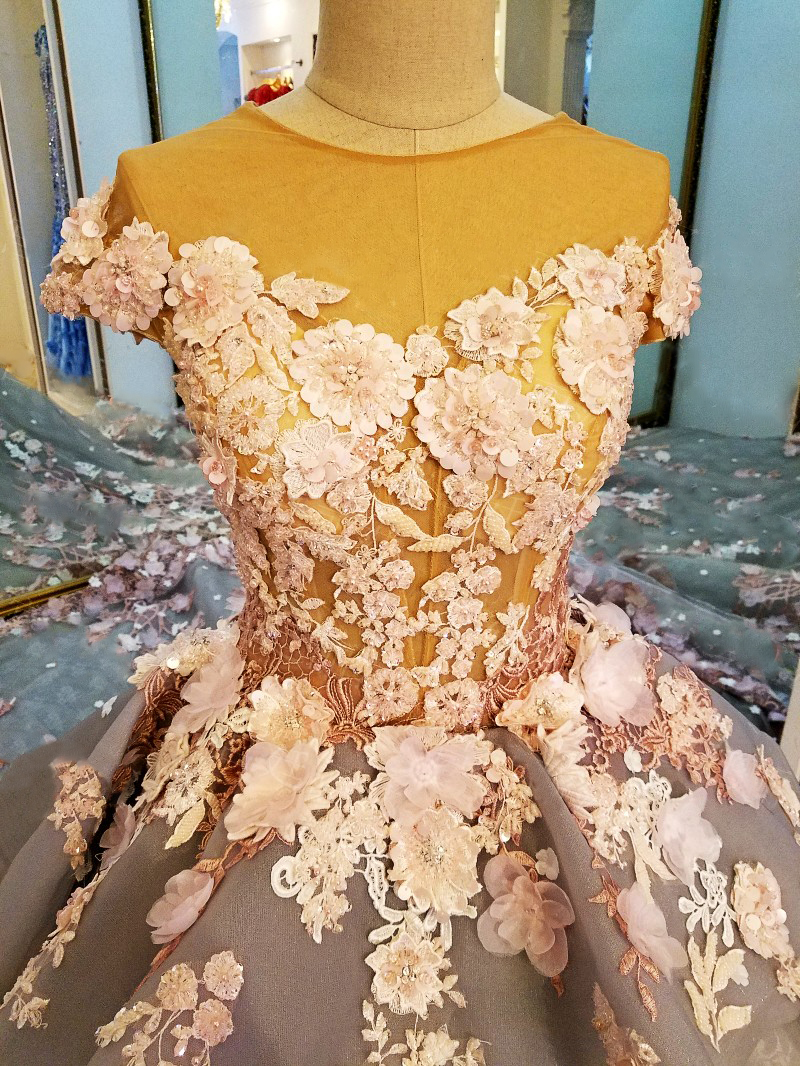 LS88349 gaun panjang untuk gaun pesta perkahwinan vestidos de festa - Gaun acara khas - Foto 4