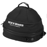 Rock Biker Motorcycle Helmet Bags Breathable Cooling Fan Top Case Motorbike Multi functional Touring Luggage Bags Large Capacity