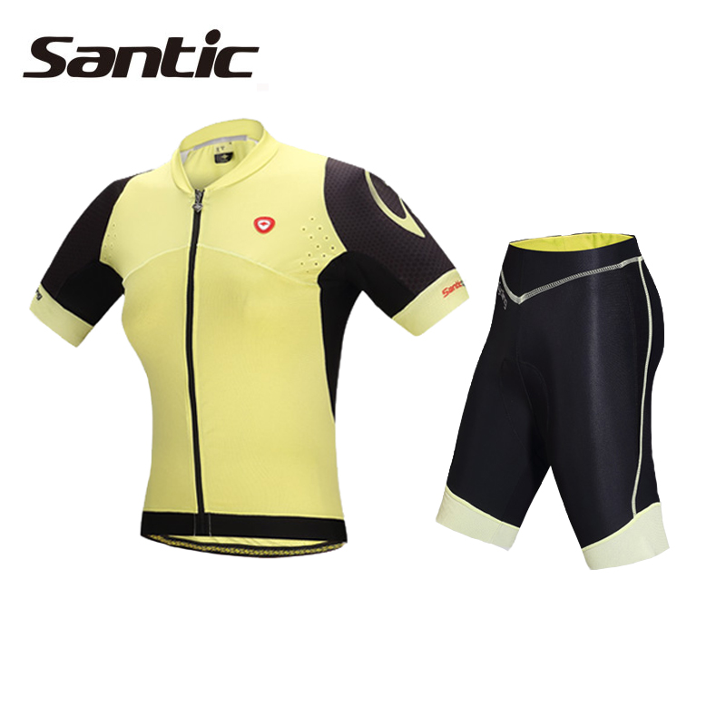 Santic Cycling Jersey Women Summer Pro Road MTB Bike Jersey Short Sleeve Bicycle Wear Cycling Clothing Maillot Ciclismo Mujer santic men short sleeve cycling jersey breathable summer cycling clothing mtb road downhill bicycle bike jersey anti sweat