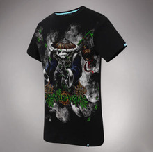 Wishining 3D T Shirts WOW Mists of Pandaria Tshrits Mens Black Tee Shirts
