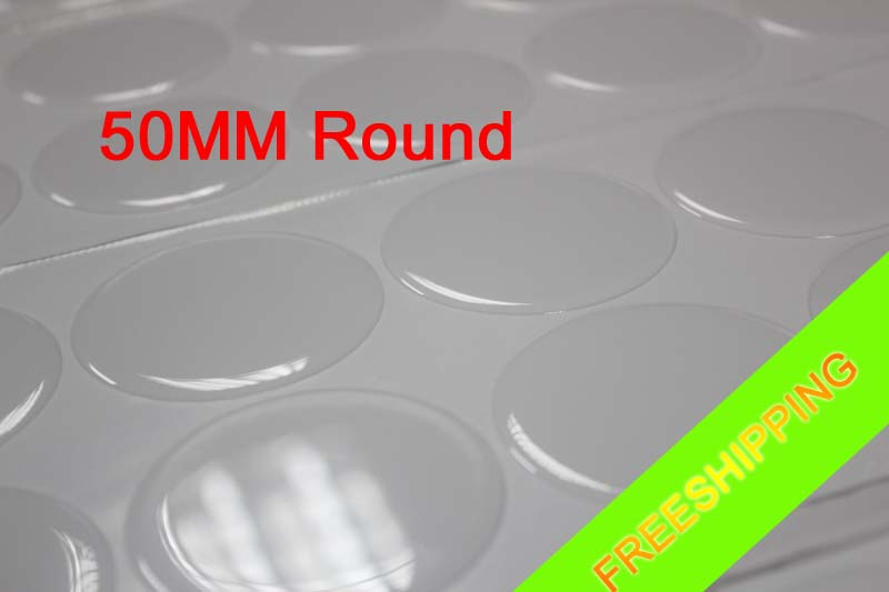 2 1//4 inch - 57.1mm Circle Domes Round Clear Epoxy Stickers FREE SHIPPING