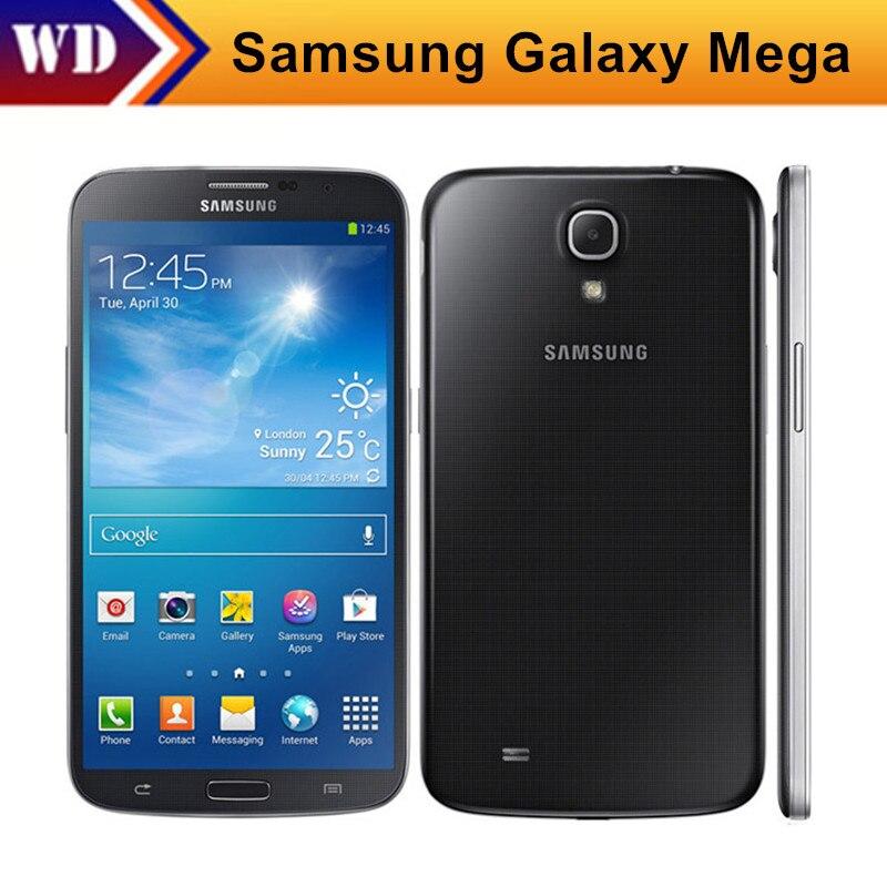 Цена за Оригинальный Samsung Galaxy Mega i9205 i9200 6.3 ''дюйма двухъядерные 8MP Android OS Ultra Slim Wi Fi 8 ГБ восстановленное