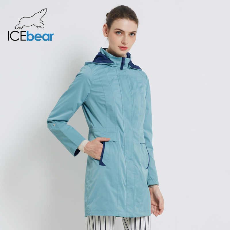 ICEbear 2019 frauen Mantel Hohe Qualität Herbst Langen Graben Mantel Für Frauen Marke Kleidung 17G116D