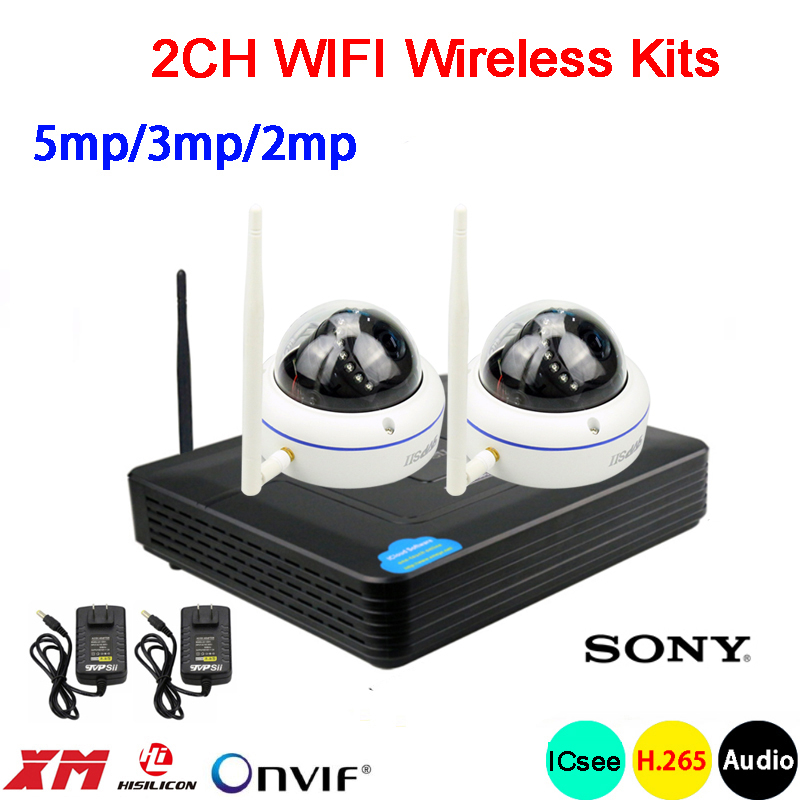 5mp/3mp/2mp White 15pcs infrared led Waterproof Audio H.265+ 25fps 2CH 2 Channel WIFI Wireless IP Dome Camera kits Free Shipping5mp/3mp/2mp White 15pcs infrared led Waterproof Audio H.265+ 25fps 2CH 2 Channel WIFI Wireless IP Dome Camera kits Free Shipping