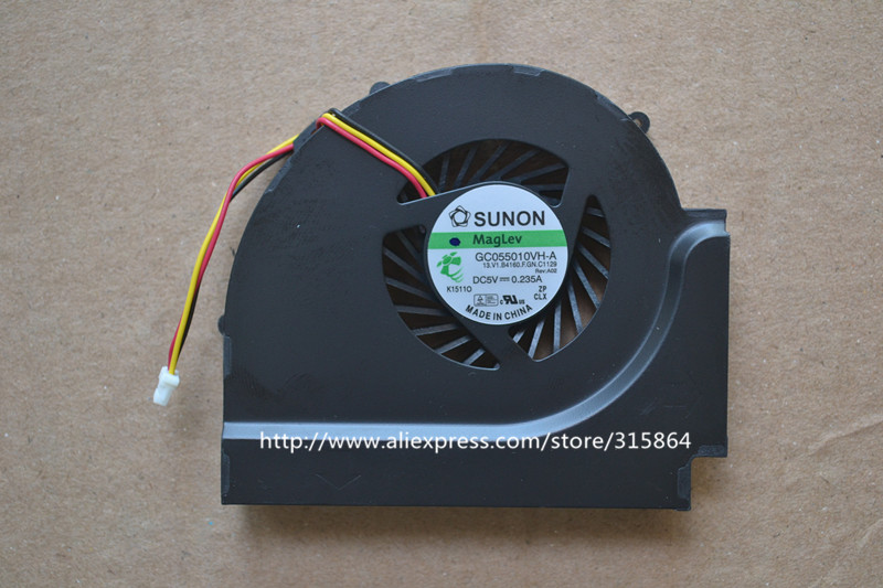 NEW LAPTOP CPU COOLING FAN FOR IBM thinkpad T510 W510 GC055010VH-A