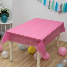 Disposable Tablecloth Birthday-Party Wedding Rectangle for 137x183cm HAZY