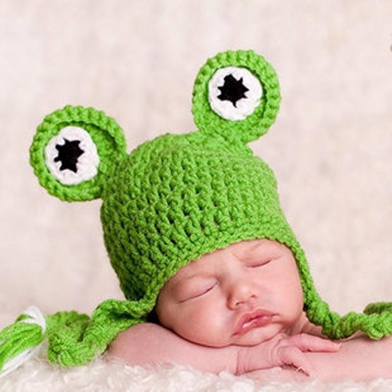 Gorro de lana para bebé Lindo Bebé recién nacido Sombrero Niño - Ropa de bebé