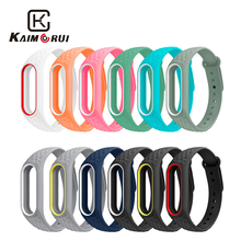 Band for mi band 2 Accessories Pulseira miband 2 Strap Replacement Silicone Wriststrap for xiaomi mi2 Smart Bracelet