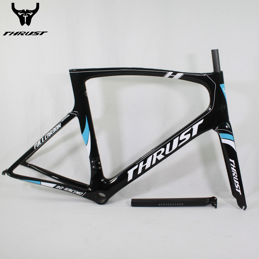 2017 Carbon Road Bicycle Bike Frame 49 52 54 56 58 130mm Hubs 700c Wheels 49 52 54 56 58 cm Bicycle Bike Frame Carbon PF30 стоимость