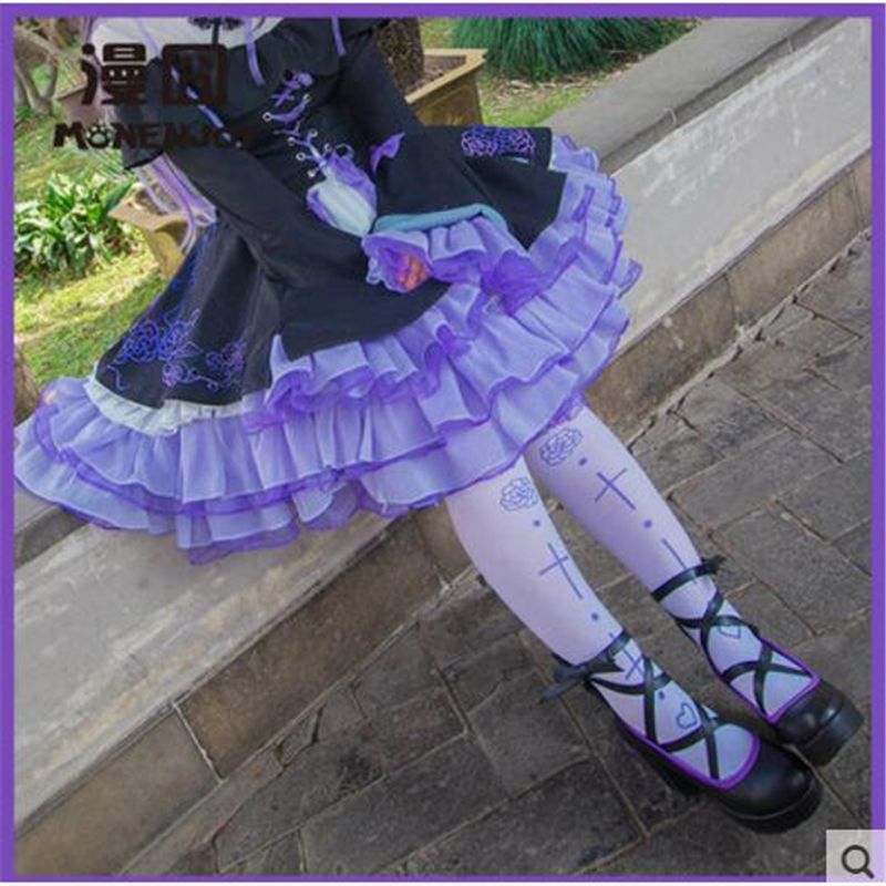 Lolita Shoes Cos Cosplay Boots Cross Strap High Heel Cute Princess Bound Toe leather Shoes mori girl japanese cute bow buckle students single shoes school uniform jk leather shoes cross straps lolita princess shoes page 3