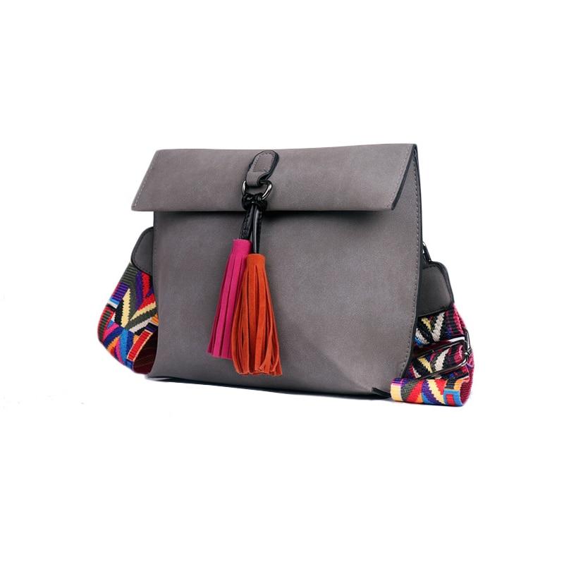 Women's Bag Scrub PU Crossbody Bags Luxury Handbags Women Bags 9