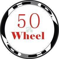 8pis/2Wheels/set Road Bike 700c Wheel Stickers Bicycle Rim Stickers Bike Decals Wheel Stickers