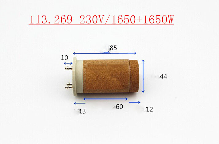230V 1650+1650w heating element for hot air gun heating element/ for Plastic Welding Guns