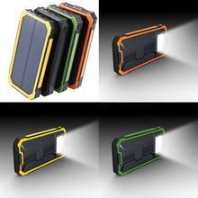 Multifunction Solar Mobile Power Supply Kit No Battery Led Solar Panel Charger Storage Box Dual USB 18650 Power Bank Case цена