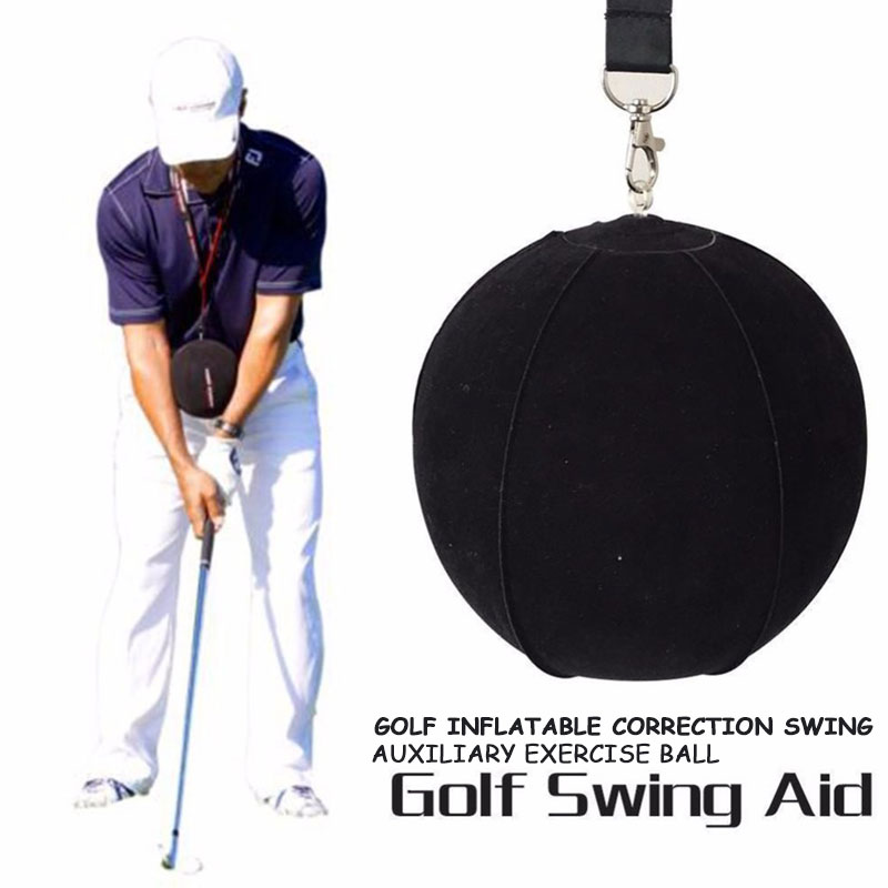 Golf Posture Correction 15cm Strong Outdoor Golf Swing Assistant Black Club Golf Training Supplies