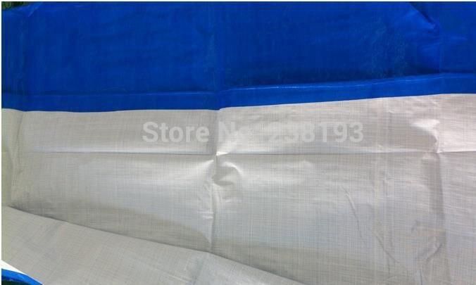 Anpassa 2mX3m blå och vit utomhusskydd, vattentät duk, - Säkerhet och skydd - Foto 3