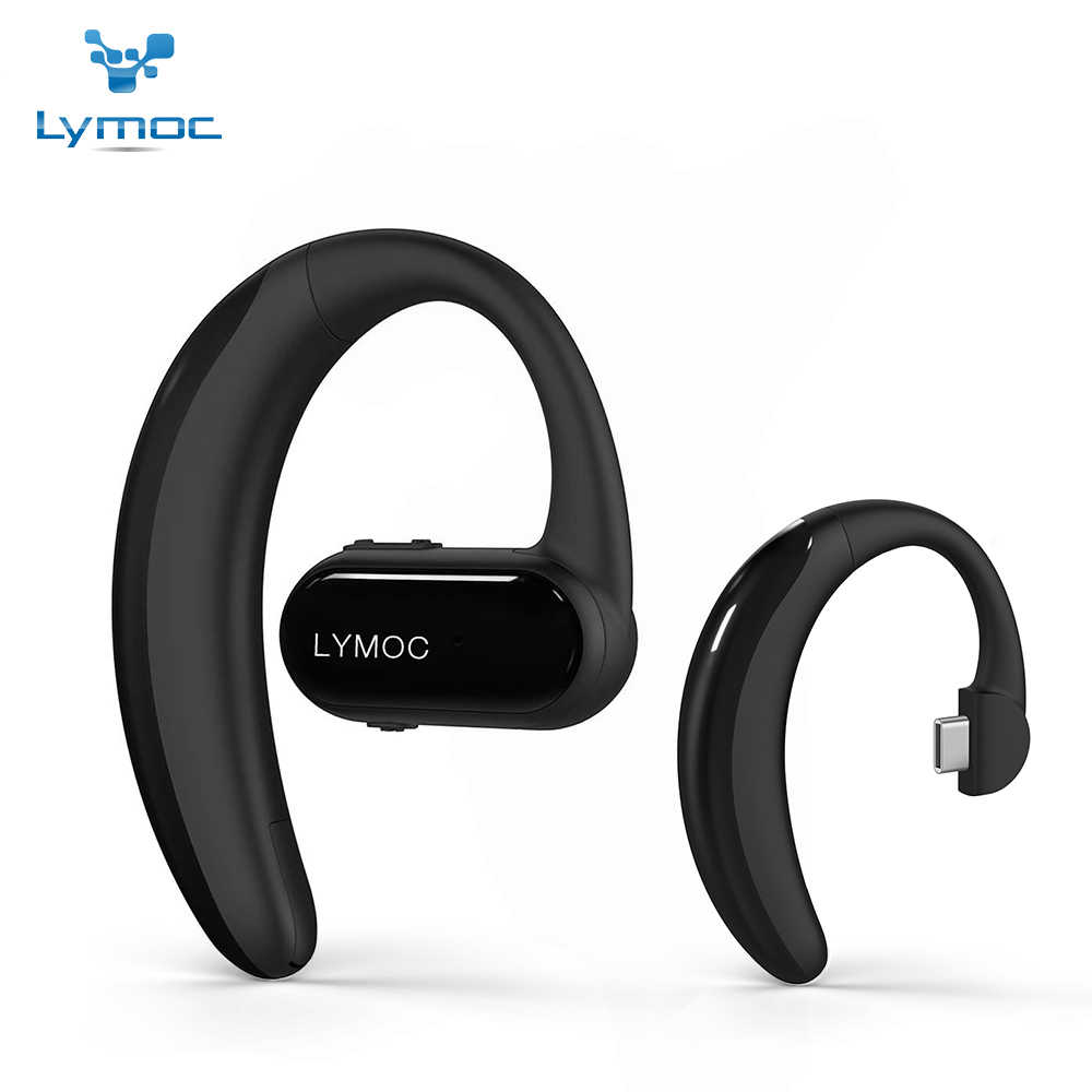 29a26ce891d Original LYMOC Bluetooth Earphones Wireless Earbuds Headsets Type-C Voice  Control Stereo Bluetooth Headphones for