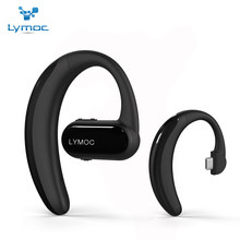 Original LYMOC Bluetooth Earphones Wireless Earbuds Headsets Type-C Voice Control Stereo Bluetooth Headphones for iPhone Android(China)