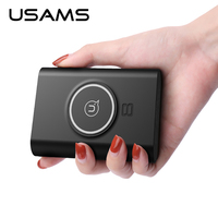 USAMS Qi Wireless Charger For IPhone 5s 6 6Plus Xiaomi 10W USB Charger Cheap Mini 2