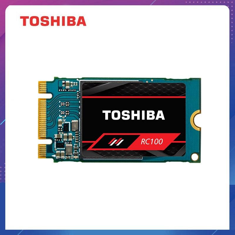 Toshiba RC100 NVMe disque dur à semi-conducteurs 240GB M.2 2242 PCIe 3.0*2 SSD interne 1600 mo/s mémoire Flash pour ordinateur portable