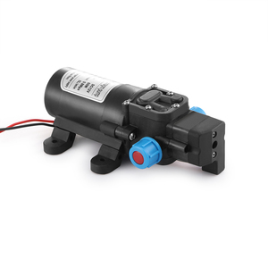 Image 2 - Nieuwe DC 12 V 60 W 0.8MPA 5L/MIN Micro Membraanpomp Intelligente Mini Elektrische Zelfaanzuigende Water pomp 12 V MAX Zuigkracht 2 M Kwaliteit