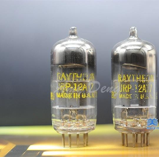 12AT7 ECC81 6201 50s D Ring HI FI Fever Tube