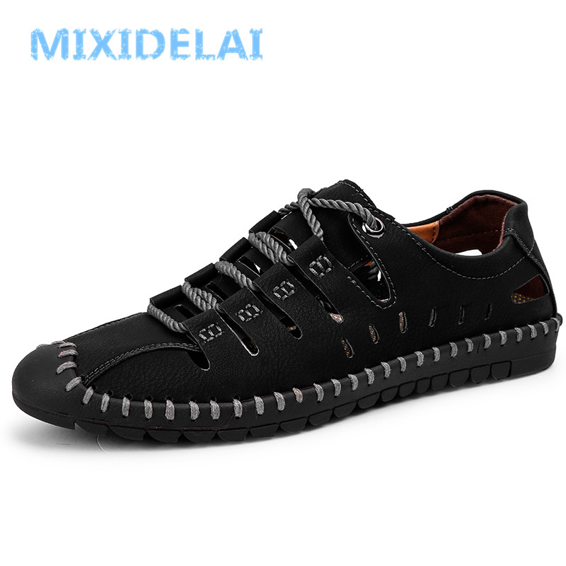 MIXIDELAI New Summer Comfortable Casual Shoes Loafers Men Shoes Quality Split Leather Shoes Men Flats Hot Sale Moccasins Shoes technology policy and drivers for university industry interactions